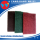 New style scissor metal polishing scouring pad for wholesale