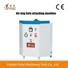 air-bag sole attaching machine for sport shoes
