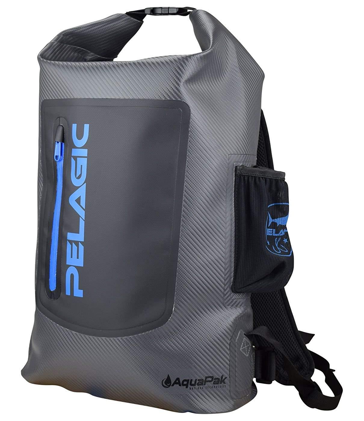 518461e5dd3 Pelagic Aquapak 30L Backpack | Dry-Bag Technology | Waterproof Zippers |  Reinforced Straps