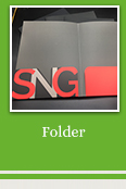 Custom hot stamping folderfolder personalizado company prescription files