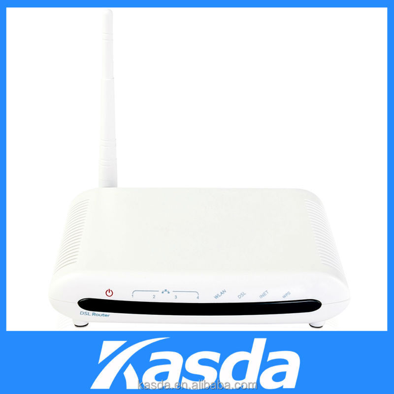 Wireless 4-Ports ADSL2+ Modem Router wireless speed up to 75Mbps