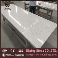 lower price white composite chinese quartz countertops of kitchen