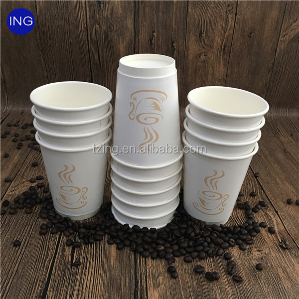 Disposable Single Wall PLA Lined Paper Cups
