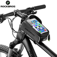 ROCKBROS 6.0 Inch Waterproof Touch Screen Cycling Top Front Tube Frame Bag