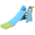 light blue oem custom design toy easy assemble game play plastic home slide for kids children