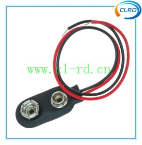 Battery clip for 9V battery 9V snap-type battery holder