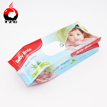 factory custom newborn baby wipes wet paper towel packaging bag