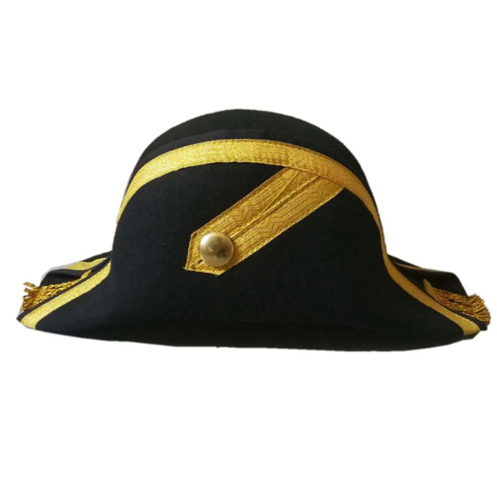 4785144af 100% Australia Wool Felt Napoleon French Bicorn Hat - Buy British Frence  Party Hat,Bicorn Chapeau Hat,Black Napoleon Bicorn Hat For Sale Product on  ...