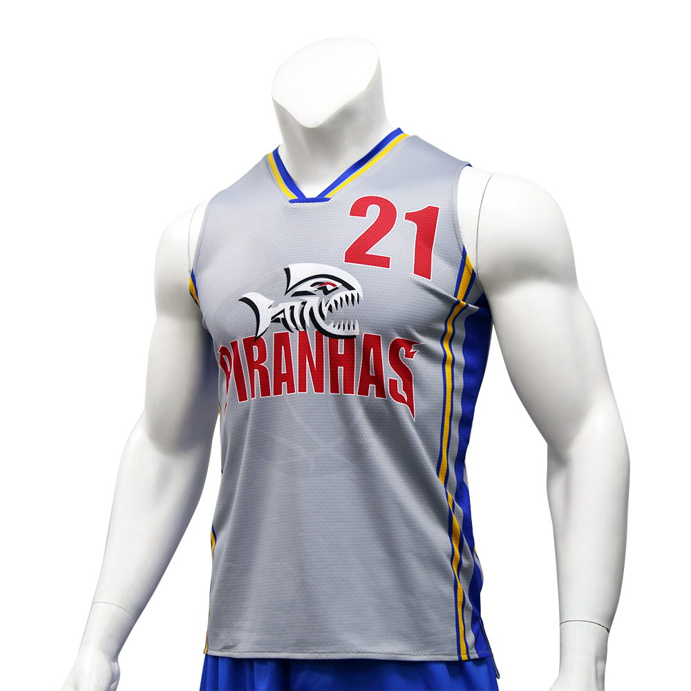 Free Design Sportswear Wholesale Basketball Jersey Men Reversible Latest Basketball Jersey Design