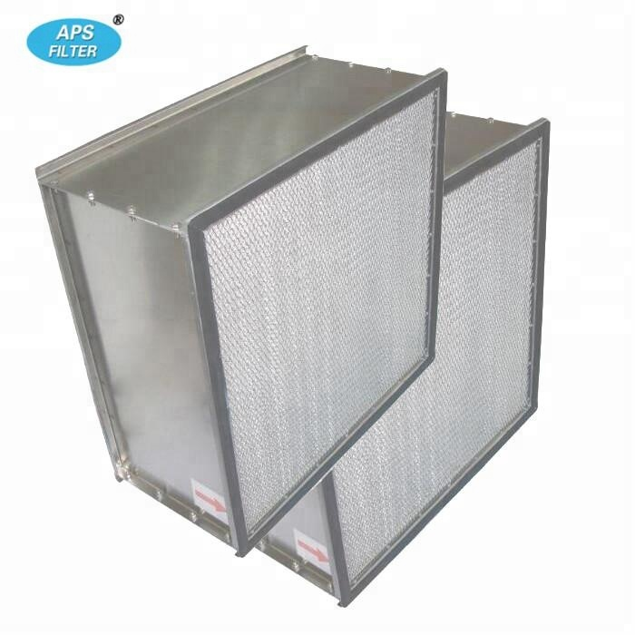 industrial aluminum frame H13 hepa <strong>air</strong> <strong>filter</strong> 610*610*292 for <strong>clean</strong> room