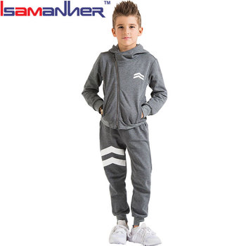2 pcs new style kids jogging suit outdoor kids sports clothes for boys