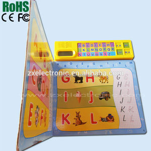 2-5 Years Old Kids Sound Electronic Book with Music Chip