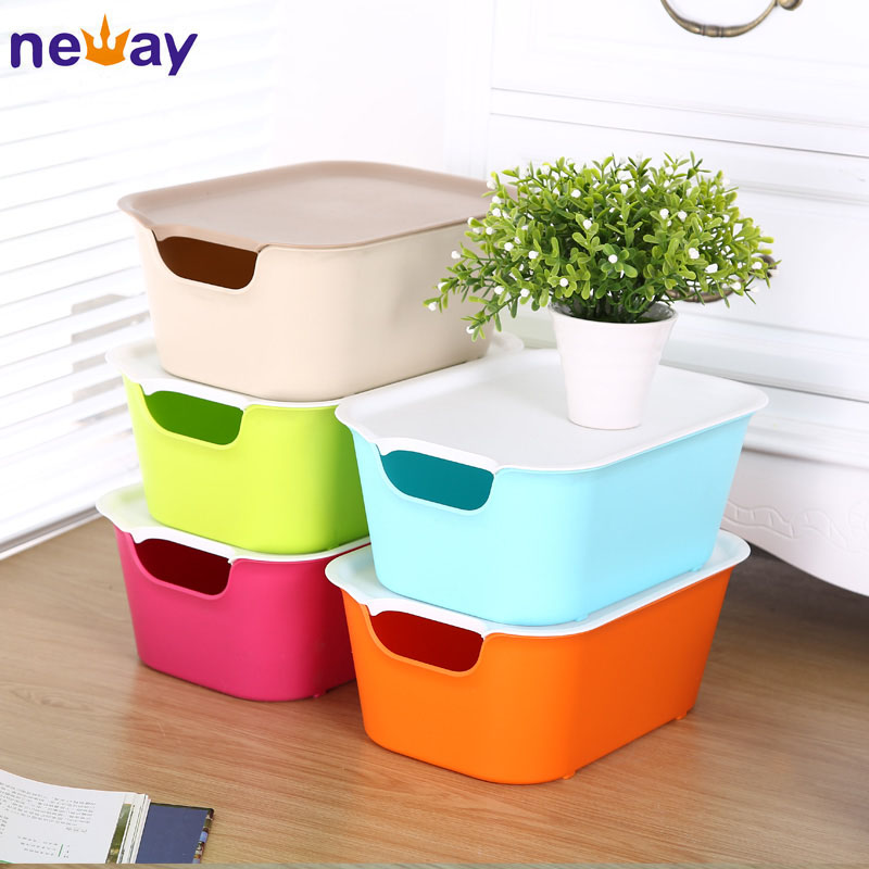 Small Hard Household Plastic Storage Boxes Warehouse