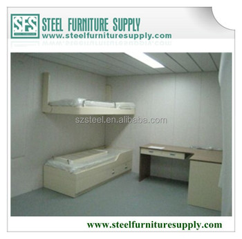 2015 New Product Marine Furniture, Upper Steel Pullman Bed Lower Single Bed  For Offshore,