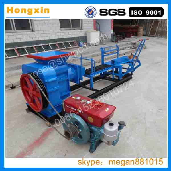 China Manual Red Small Clay Brick Making Machine Cement
