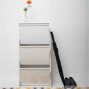 China Manufacturer Whole Vertical Wall Mounted Metal Shoes Storage Rack Corner Shoe Cabinet
