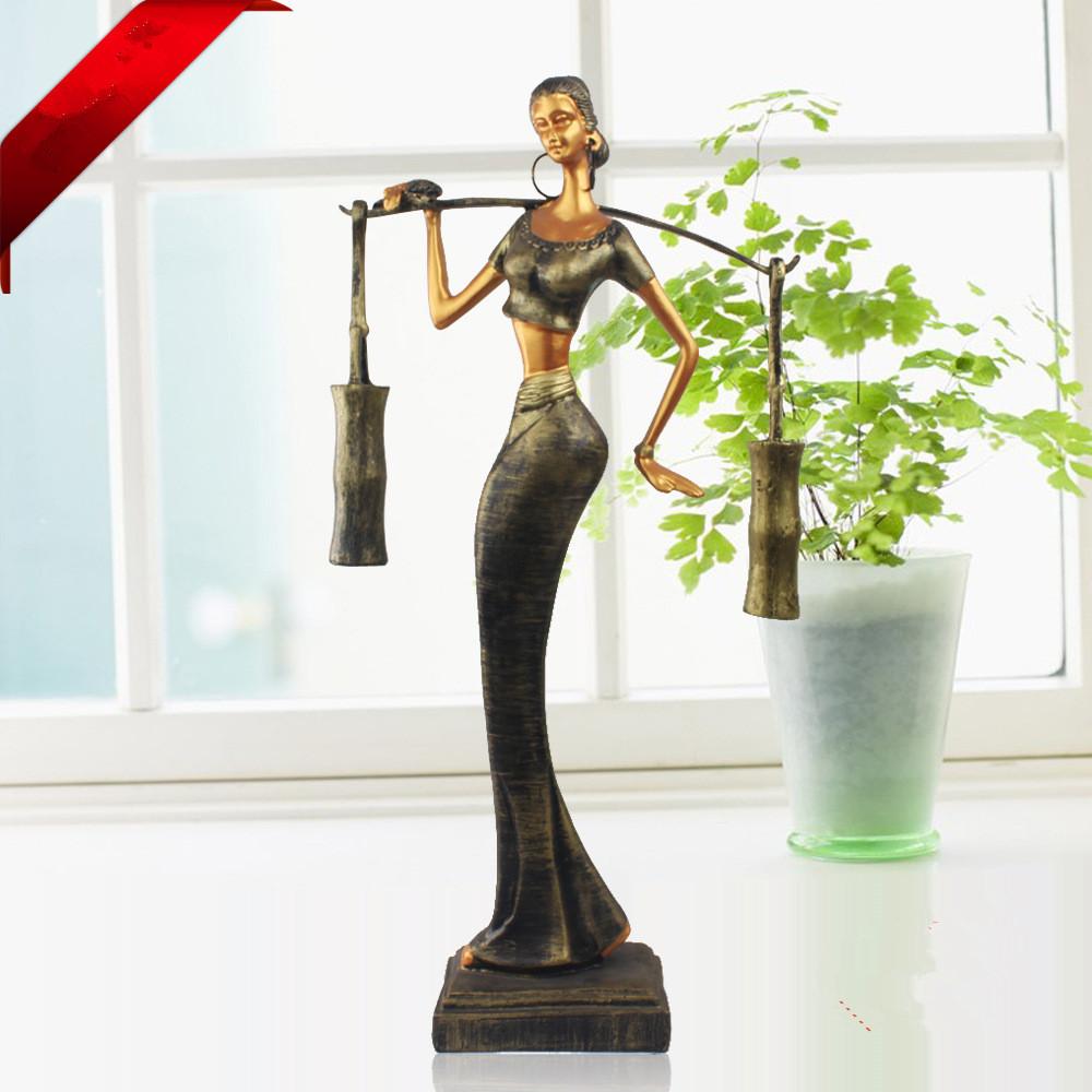 Home Decor Handicrafts: Creative Gifts Home Decor Resin Crafts Dai Female Pole