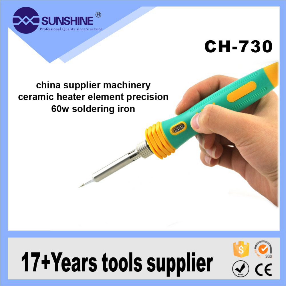 Mobile Phone Repair 60 Watt Ceramic Heater Element Soldering Iron Gun For Circuit Boards What Kind Of Wattage With Led Light Buy Ironmobile Iron60
