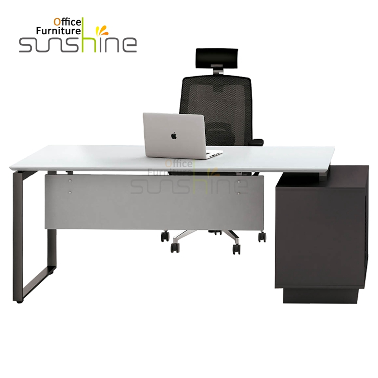 Modern computer lab desk folding vertical computer desk