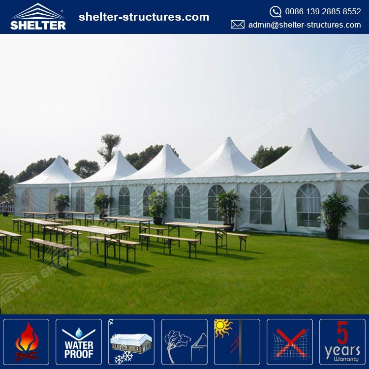 3x3 Marquee Pagoda tent For Sale