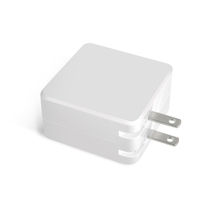 30W Type C PD Wall Charger with EU US AU UK KR Plug Output 5V/3A 9V/3A 15V/2A 20V/1.5A USB C To C Charger
