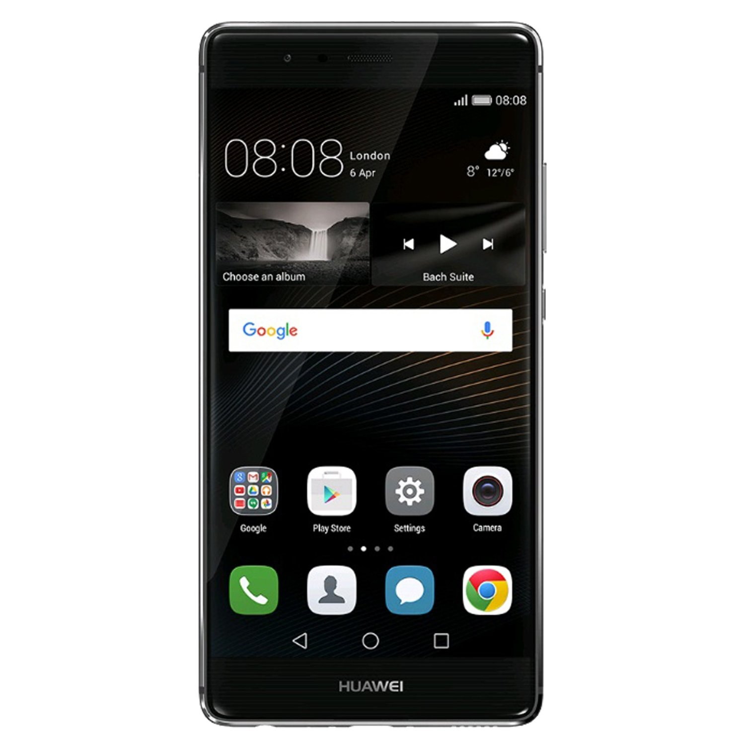 Huawei P9 EVA-L09 32GB Single-SIM Android Smartphone - Factory Unlocked - International Version with No Warranty (Titanium Grey)