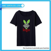 custom printing100% cotton t shirt women mens t shirt latest 2015
