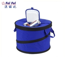 kid water bottle portable wine freezer chiller foil insulated ice cream carrier cold storage bag