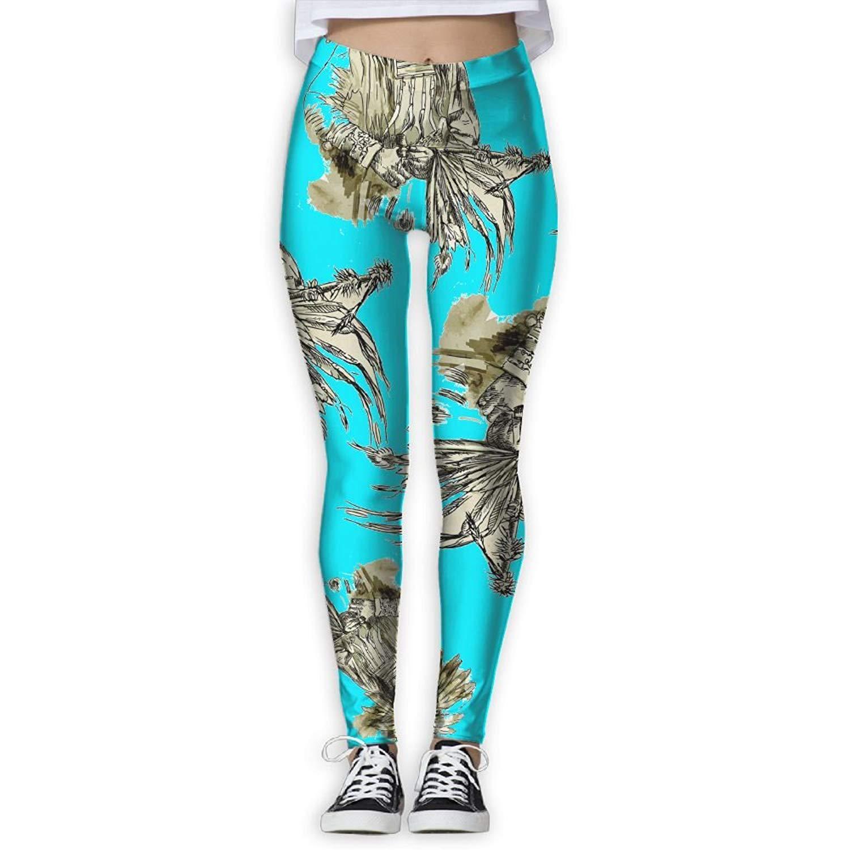 WUYIMC Yoga Leggings Pants Fashion Women Trees Printed Sports Yoga Workout Gym Exercise Athletic Pants