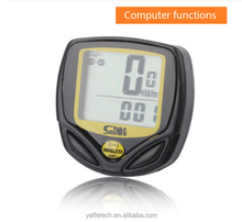 Multi Functions Wireless bicycle computer , bicycle speed meter