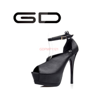 GD platform styles with strap party wear stiletto high heel shoes women