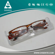 design optics reading glasses with glass case