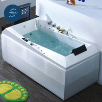Factory outlet top quality double person massage bath