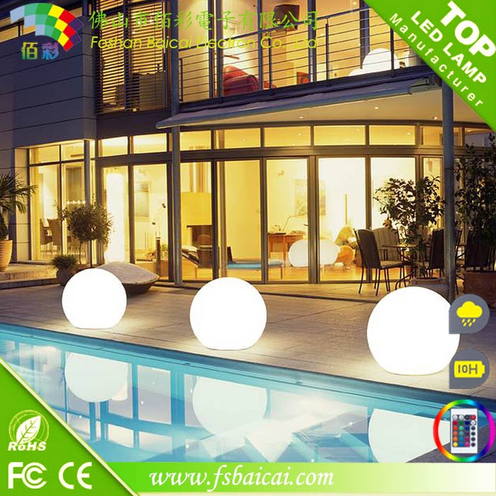 Plastic Ball Led / Outdoor Hanging Ball Lights