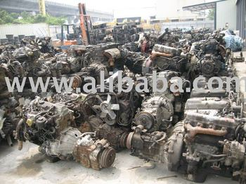 Second Hand Car Engine And Engine Parts
