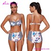 High Waist USA Warehouse Delivery Printed Lady C String Swimwear Swimming Suit Bikini Women