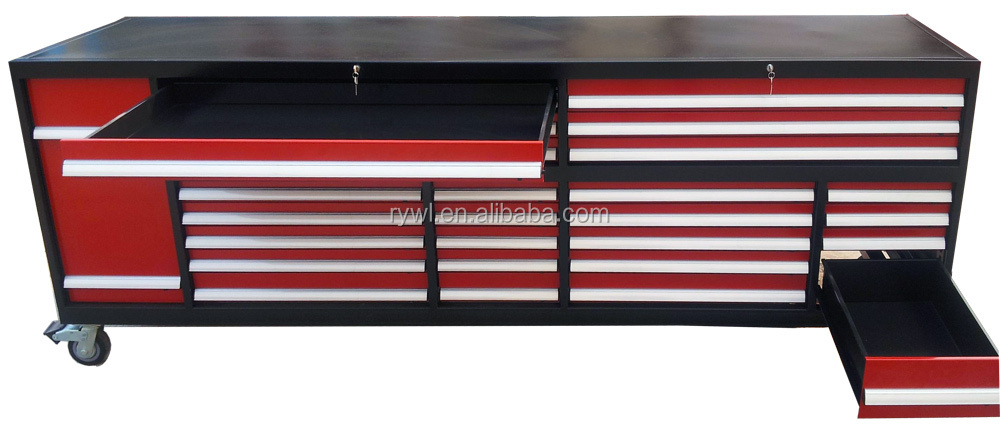 New 20 Drawers Large Garage Shed Storage Workbench Tool Chest Box ...