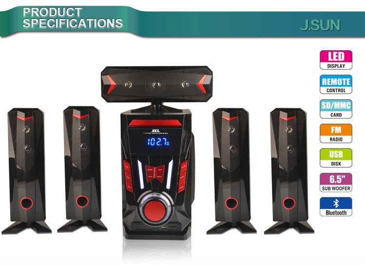 New Design 2.1 3.1 5.1 7.1 Home Theater hi-fi Multimedia Active Speaker System