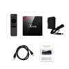 x96 pro android tv box with wireless keyboard smart player power tv