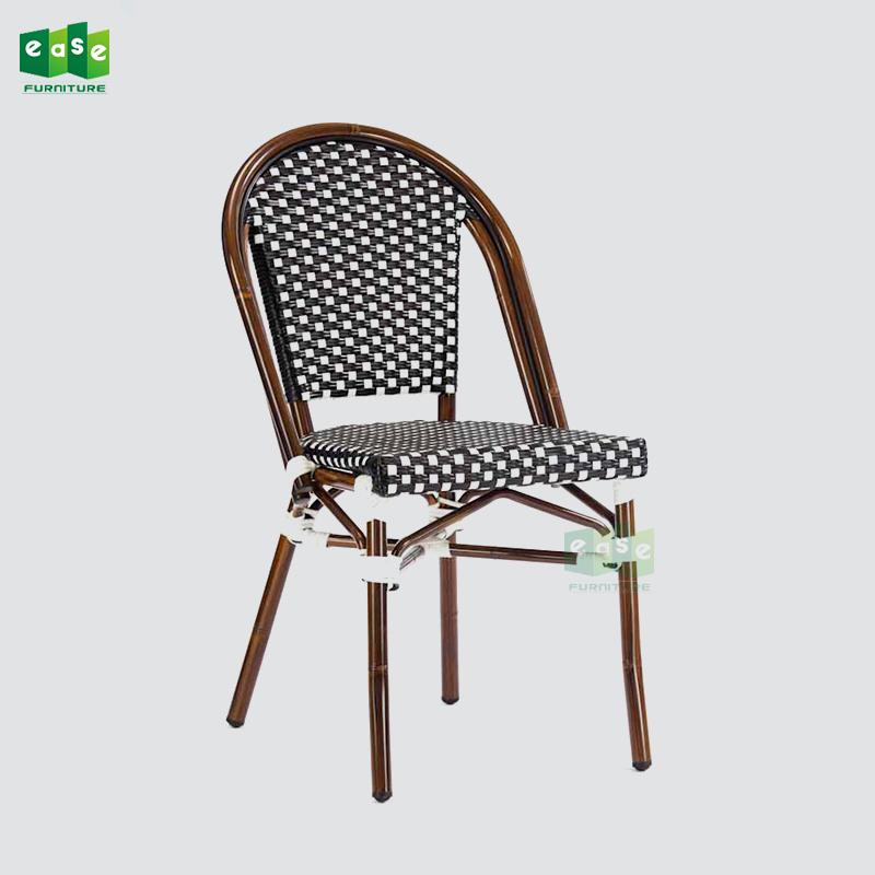 Admirable Aluminum Bamboo Paris Bistro Outdoor Dining Chair Rattan E200779 Side Buy Paris Bistro Chair Bamboo Bistro Chair Bistro Chair Rattan Product On Ibusinesslaw Wood Chair Design Ideas Ibusinesslaworg