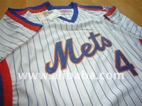 NEW 2011 LENNY DYKSTRA NEW YORK METS THROWBACK JERSEY