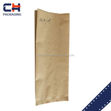 custom accept food packaging with good quality kraft paper bag