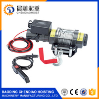 Fast Speed Heavy Duty Electric Winch 4000lbs mini 12v electric winch/ATV Electric Winch