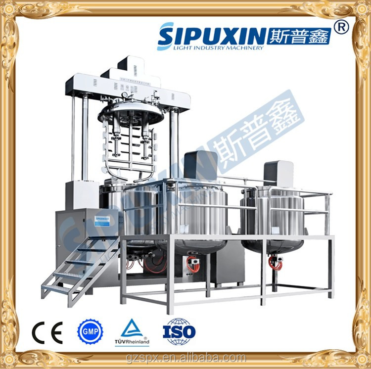 Sipuxin SZR Toothpaste vacuum making machine made in China