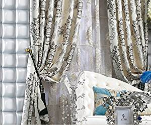 Get Quotations · IYUEGO Wide Curtains 120Inch-301Inch for Large Windows Country Rustic Jacquard Faux Silk Multi Floral  sc 1 st  Alibaba & Cheap Silk Panel Curtains find Silk Panel Curtains deals on line at ...