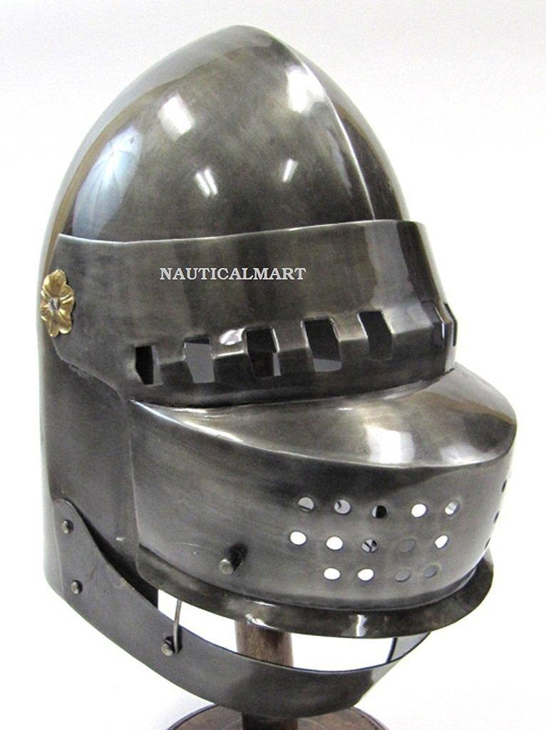 Buy Great Bascinet Armor Helmet By Nauticalmart in Cheap