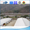 ISO large span Steel frame Prefabricated poultry house/chicken shed for poultry farm