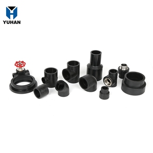 Top Quality hdpe pipe fittings catalog reducer/stub  flange/tee/elbow/coupling/end cap