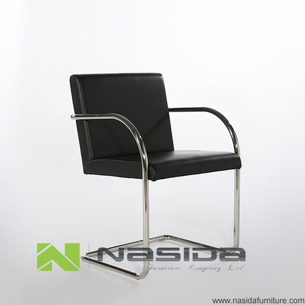 Ch127 B Stainless Steel Mies Van Der Rohe Tubular Brno Chair Buy