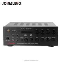 New 2017 4 channel mixer audio compact amplifier power Hifi amp for shop/Bar/Cafe